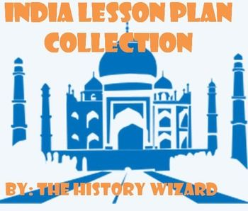 This is a bundle of two great lesson plans on India.  Lesson 1  The first lesson plan is a great webquest on India from the following website:   http://www.mrdowling.com/612india.html  The webquest on ancient to modern India has forty questions. An answer sheet is included for the teacher.