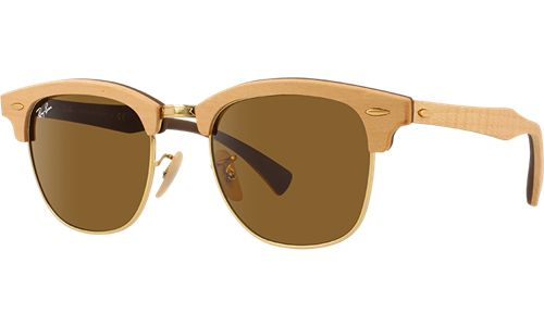 Ray-Ban Коллекция Солнцезащитные очки - Clubmaster Wood RB3016M   Официальный Сайт Ray-Ban® Russia