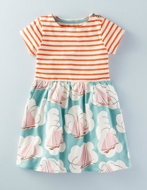 Hotchpotch Jersey Dress 33416 Day Dresses at Boden
