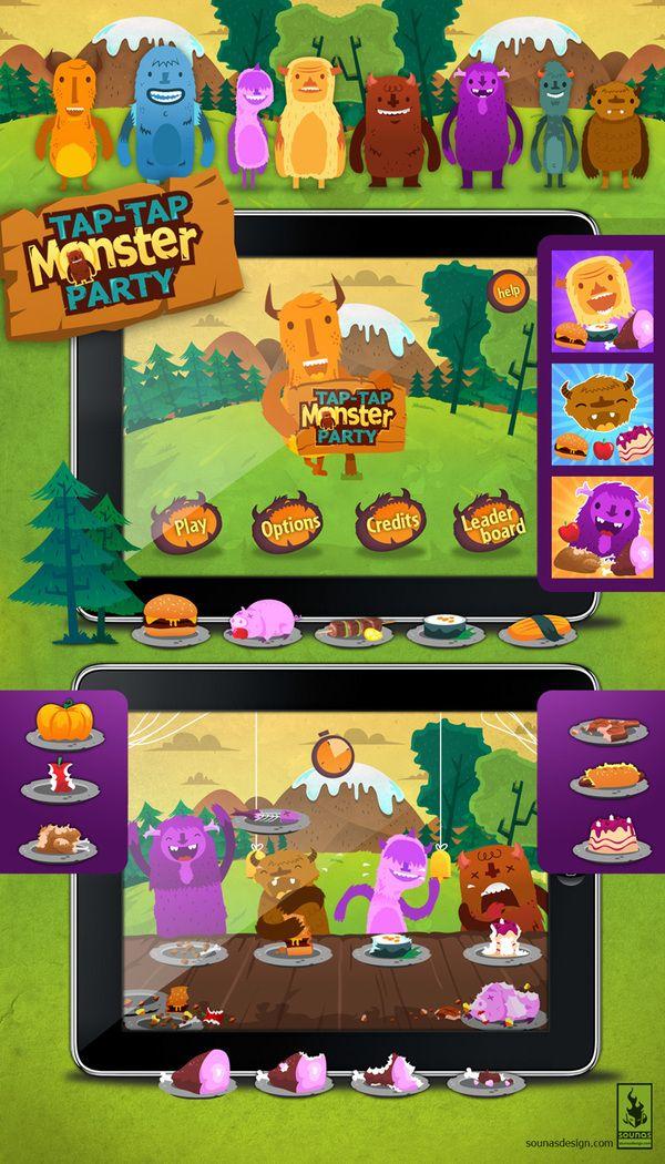 :::Game App graphics::: by Ilias Sounas, via Behance