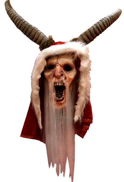 Sculpted by Weta Workshop and Finished by Justin Mabry Trick or Treat Studios and Legendary are proud to present the officially licensed Krampus Movie Mask from the new Christmas Classic, Michael Doug