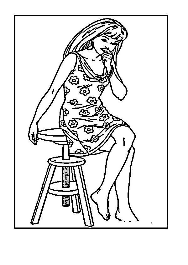 barbie 27 ausmalbilder für kinder malvorlagen zum