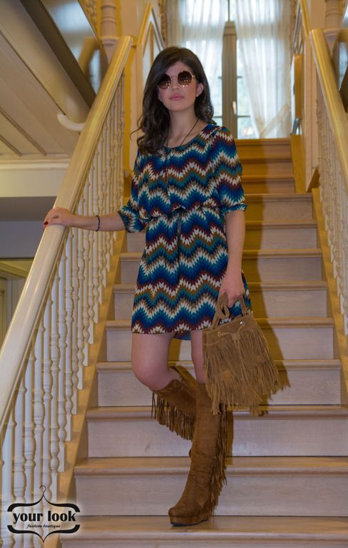 Boho dress yourlook.gr