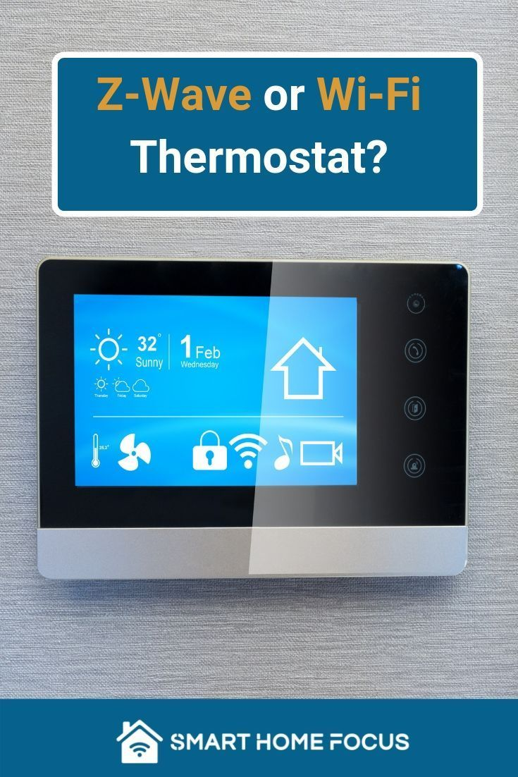 Best Z Wave Thermostat Smart Home Thermostat Home Focus