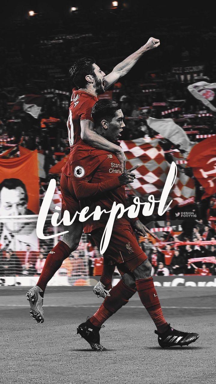 DESIGNDANIEL  Liverpool FC Lallana and Firmino celebration design by DesignDaniel on tumblr. Beautiful, football, calcio