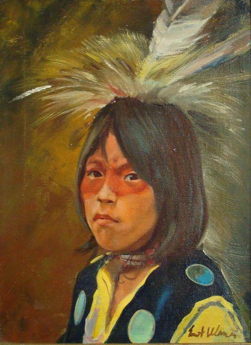 Cat Deuter Indian Warrior