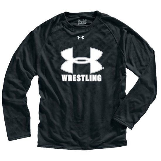 Under Armour Mens Long Sleeve Wrestling Tech T-Shirt
