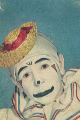 Vintage 1940s Clown Images - gruesome & beautiful #1