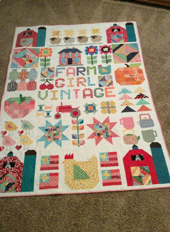 227 Best Quilt Farm Girl Vintage By Lori Holt Images On