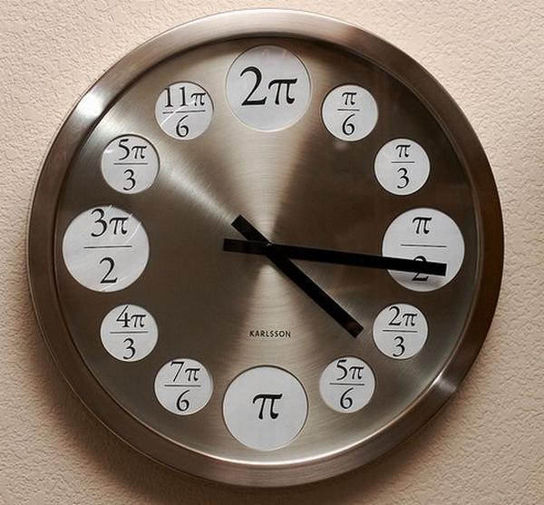 Unusual Watches (Pi is 3.141 though so why is used as a 6?)
