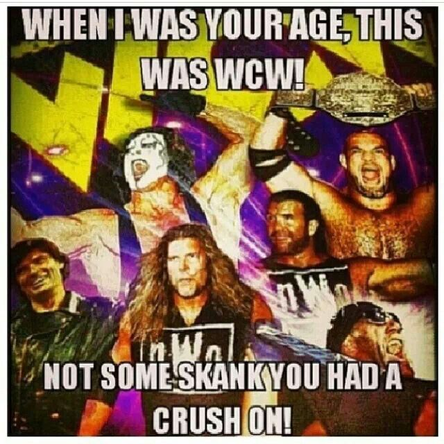World Championship Wrestling NOT  Woman Crush Wednesday