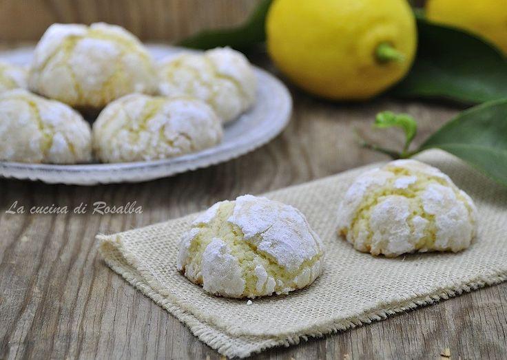 Biscotti al limone senza lievito