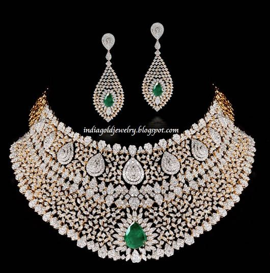 Diamond Sets Indian Jewellery | Gehna-Jewellers.jpg