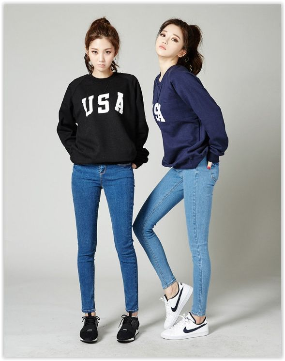 Korean Fashion & Beauty Sale, Up to 70% OFF! chuu - Super Skinny -5kg Jeans