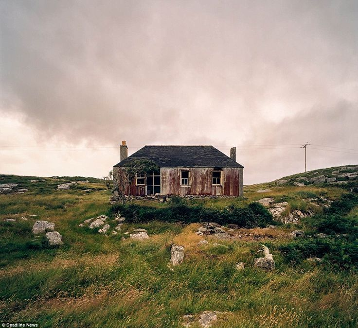 Eerie Photos Capture Decay Of Remote Scottish Island Homes