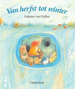Van herfst tot winter. Mooie pastelkleurige illustraties worden begeleid door versjes over kabouter Winke Tinke die moeder natuur een handje helpt.