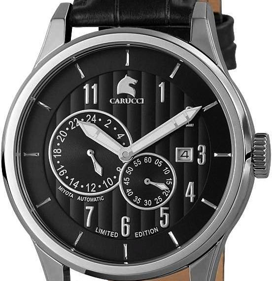 Carucci limited edition 300 pieces worldwide. Now with 50% discount. www.megawatchoutlet.com