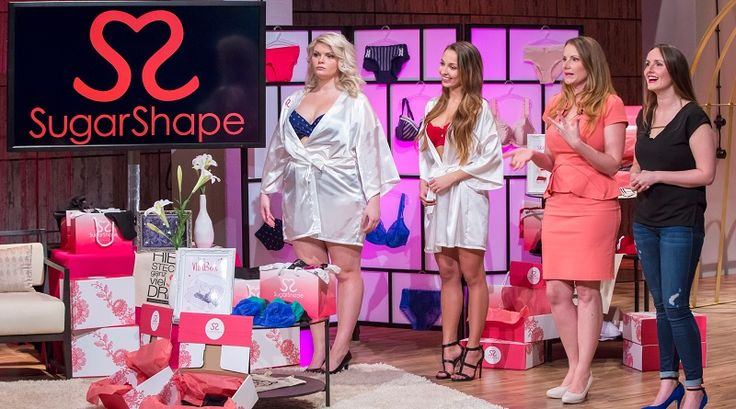 Mit #SugarShape macht #Dessous Shopping endlich Spaß! #DHDL #VOX #Löwen