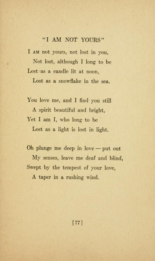 Sara Teasdale - Love songs