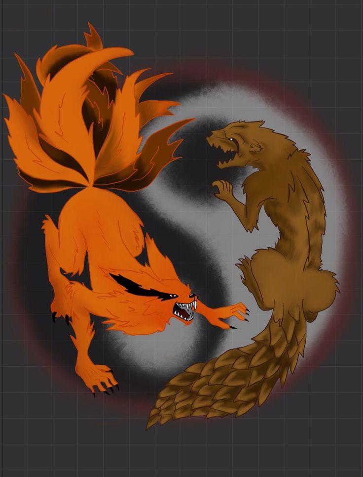 73 best Ninetail Demon Fox (Naruto Shippuden Series ...