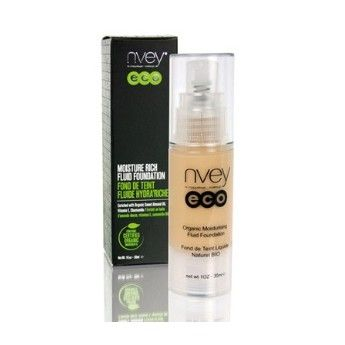 Base de Maquillaje Fluido Hidratante Nvey Eco 100% Natural http://belleza.tutunca.es/base-de-maquillaje-fluido-hidratante-nvey-eco