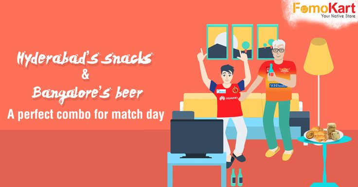 Match Day! Bangalore, in full RCB fan mode? Why don't you take care of the IPL nut in you and we'll take care of the foodie in you. Order Hyderabadi snacks to go with Bangalorean beer and enjoy the match to the fullest. http://www.fomokart.com/cities/hyderabad #match #fomokart #bangalore #homedelivery
