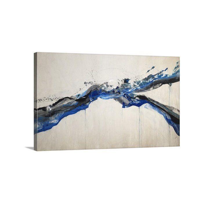 'Splish Splash' by Kari Taylor Painting Print on Canvas