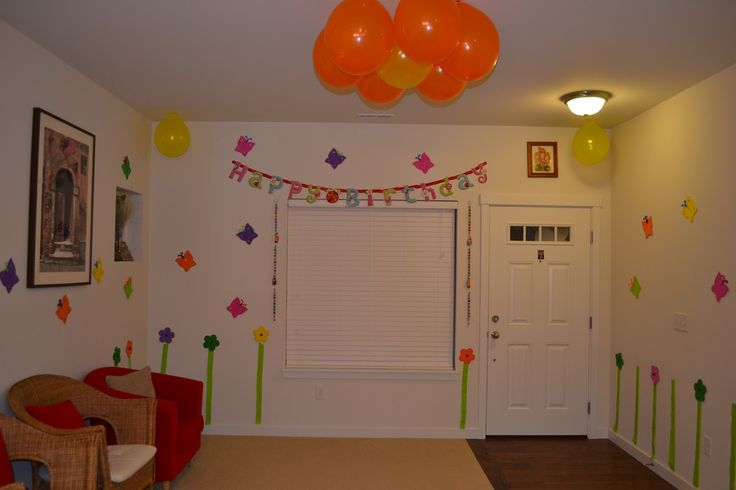 Ideas for birthday decoration at home Home decor