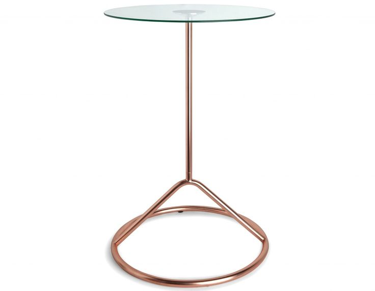 Umbra Loop Side Table In Copper Takes Up Little Space And Makes A Bold  Statement.