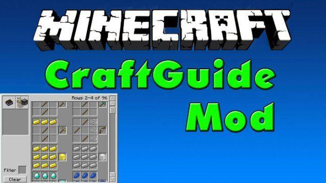 CraftGuide Mod for Minecraft 1.7.10/1.7.2