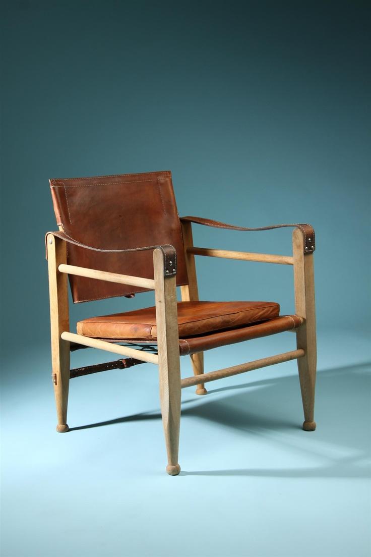 Bauer plantation chair - B Rge Mogensen Safari Chair