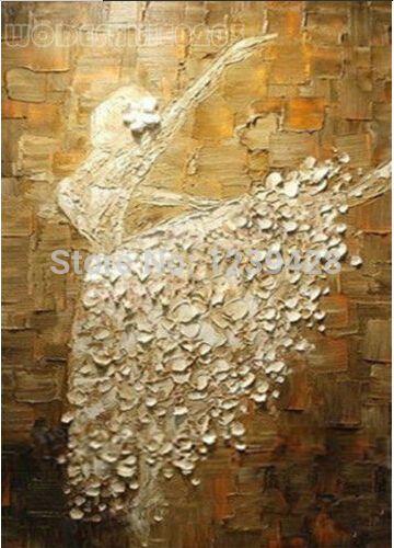 Popular Ballerina Art Paintings-Buy Cheap Ballerina Art Paintings ...