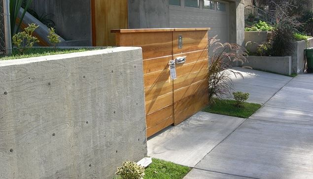 Most concrete fences will also feature sections of wrought iron or wooden panelling, which need to be separately maintained. The poured concrete, however, is coated with a moisture-resistant sealant on installation and is very low maintenance.