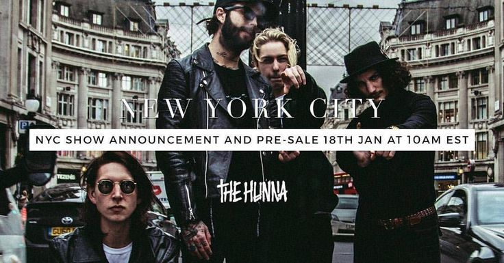 """THE HUNNA on Instagram: """"1Hunna USA  Announcing a #NewYork show Monday! Sign up to our mailing list for limited tickets  #NYC""""  SOMEONE GO WITH ME !!!"""