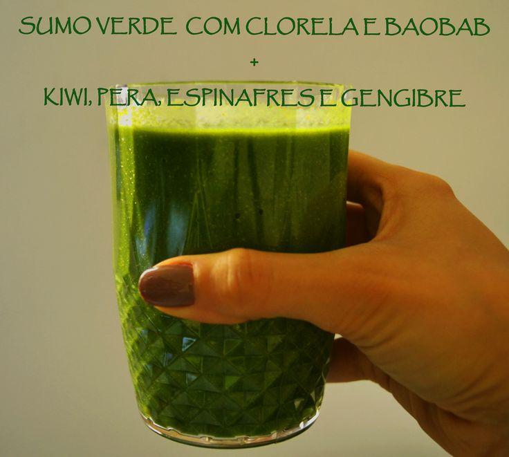 Sumo Verde com clorela e Baobab Iswari https://www.facebook.com/EntreTachosESabores/photos/pb.203927333080645.-2207520000.1423409869./547068345433207/?type=1&theater