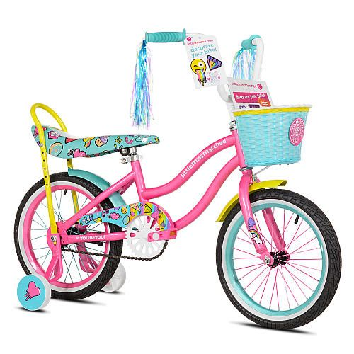 "$79 Girls 16 inch Avigo LittleMissMatched Bike - Toys R Us - Toys ""R"" Us"