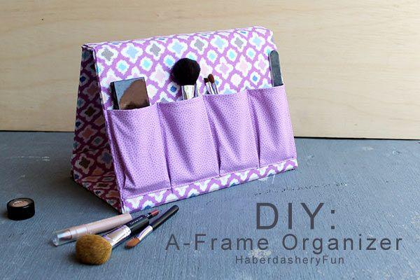 10 objets à coudre pour ranger et être organisé(e) | tutoriels de couture | Blog de Petit Citron