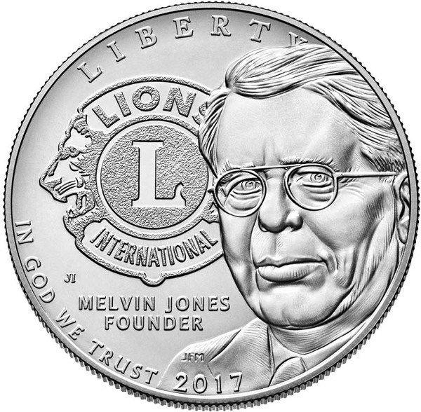 Centenario del Club de Leones en Moneda Estadounidense
