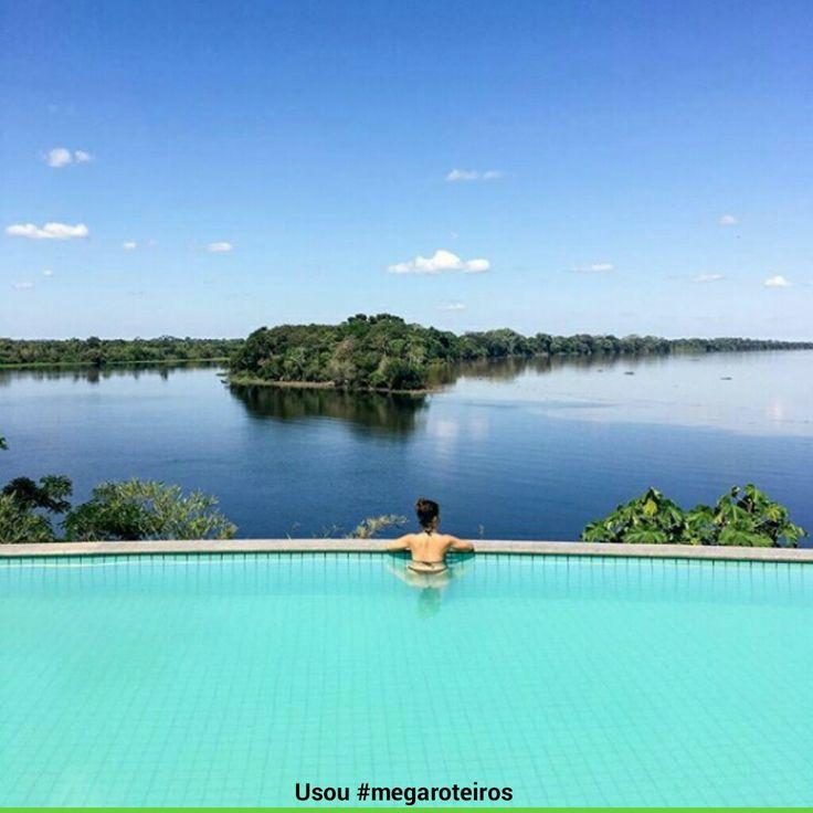 Hotel Pakaas Palafitas Lodge - Em frente ao encontro dos Rios Mamoré e Pacaás -Guajará-Mirim - Rondônia -Brasil Foto @em.parte.incerta www.megaroteiros.com.br  #rondonia #brasil #maravilhoso #megaroteiros #amazonia