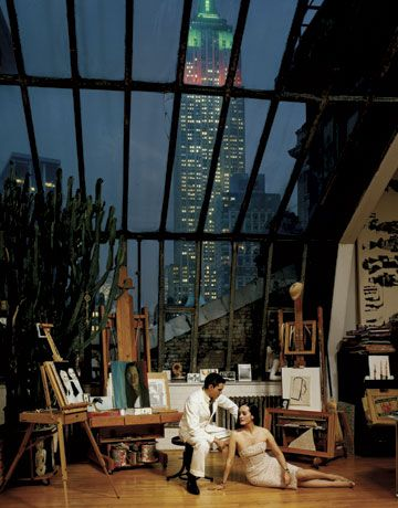 Isabel and Ruben Toledo in their home/studio