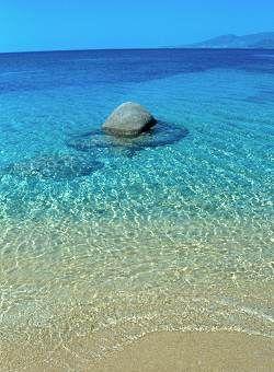 Beach in Naxos