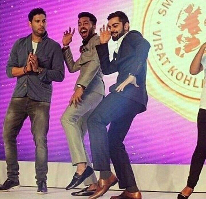 Dancer + actor+ cricketer+ hotty+ friend forever+ leader= virat kohli ..