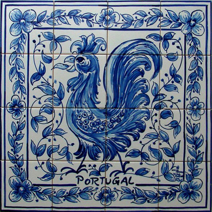 http://www.azuldecor35.fr/images/stories/histoire-azulejos/16a-p3_fresque%20murale%20en%20azulejos_coq_portugal.jpg