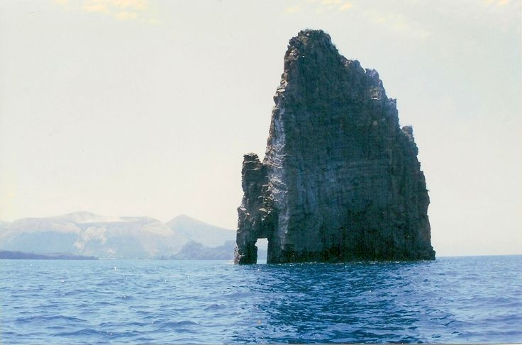Rock Formation - Lipari - Aeolian Islands - Italy