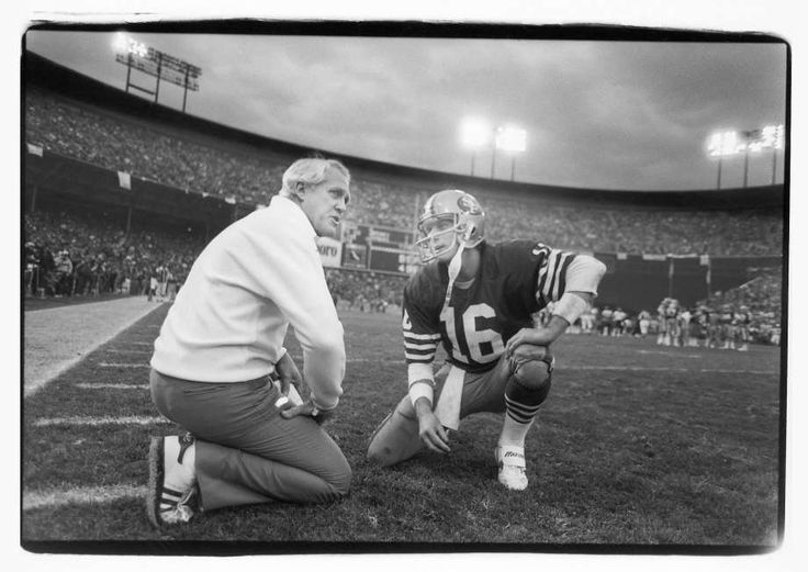 Joe Montana, San Francisco 49ers And Jerry Rice