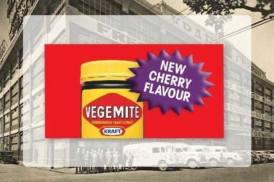 Kraft, Cherry flavoured Vegemite : April Fool's Day