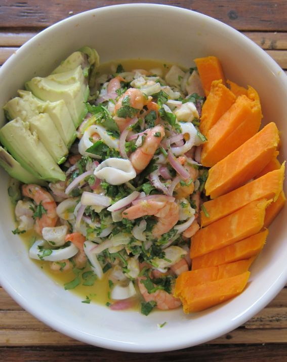 By GrillAChef/from Open Source Food.com:  Classic Ceviche Mixto