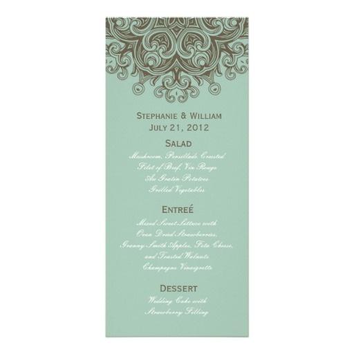Exceptionnel 15 best Menu mariage / Wedding menu images on Pinterest | Wedding  ZU08