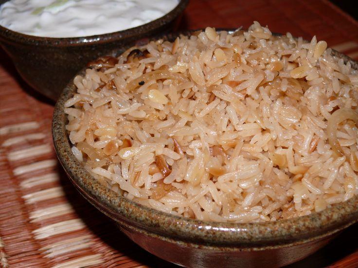 Rice Pilaf - Mayabugs's Recipes