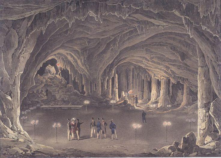 File:Eduard Gurk - Der große Dom in der Adelsberger Grotte - ca1834.jpeg